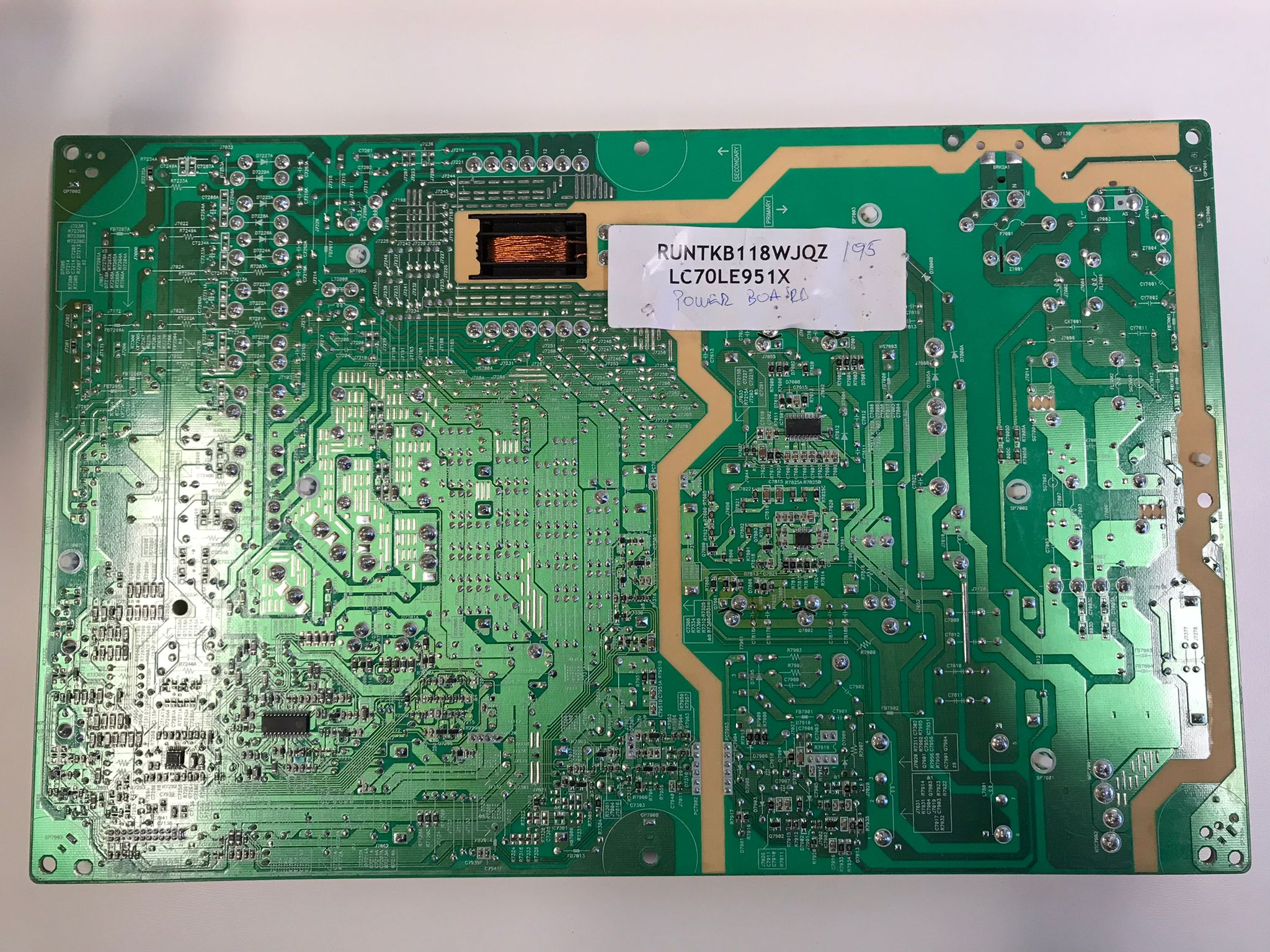 Sharp LED LCD Power Board LC70LE951X