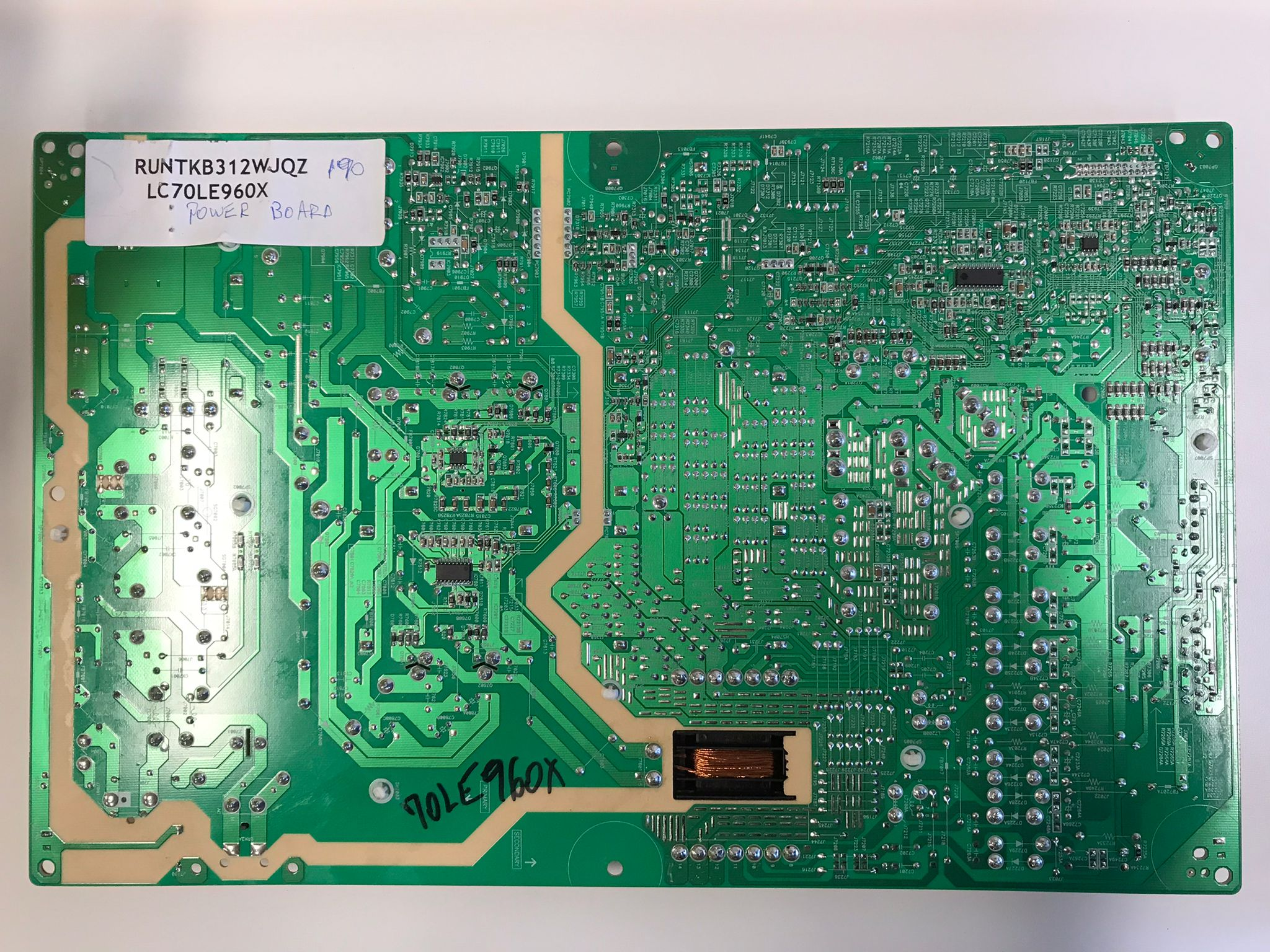 Sharp LED LCD Power Board LC70LE960X