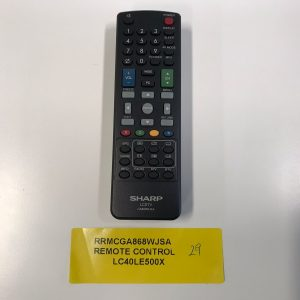 Sharp TV Remote Control RRMCGA868WJSA