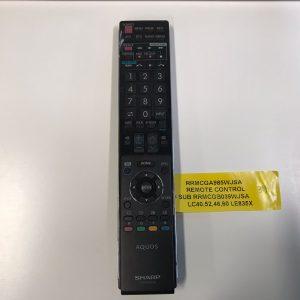 Sharp TV Remote Control RRMCGA985WJSA