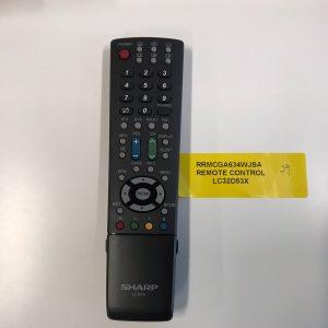 Sharp TV Remote Control RRMCGA634WJSA
