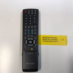 Sharp TV Remote Control RRMCGA774WJSA