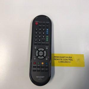 Sharp TV Remote Control RRMCGA971WJSA