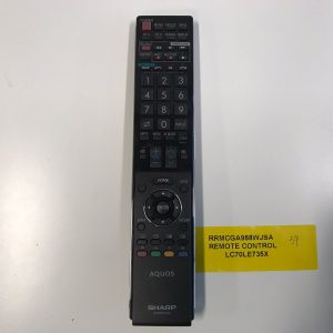 Sharp TV Remote Control RRMCGA988WJSA