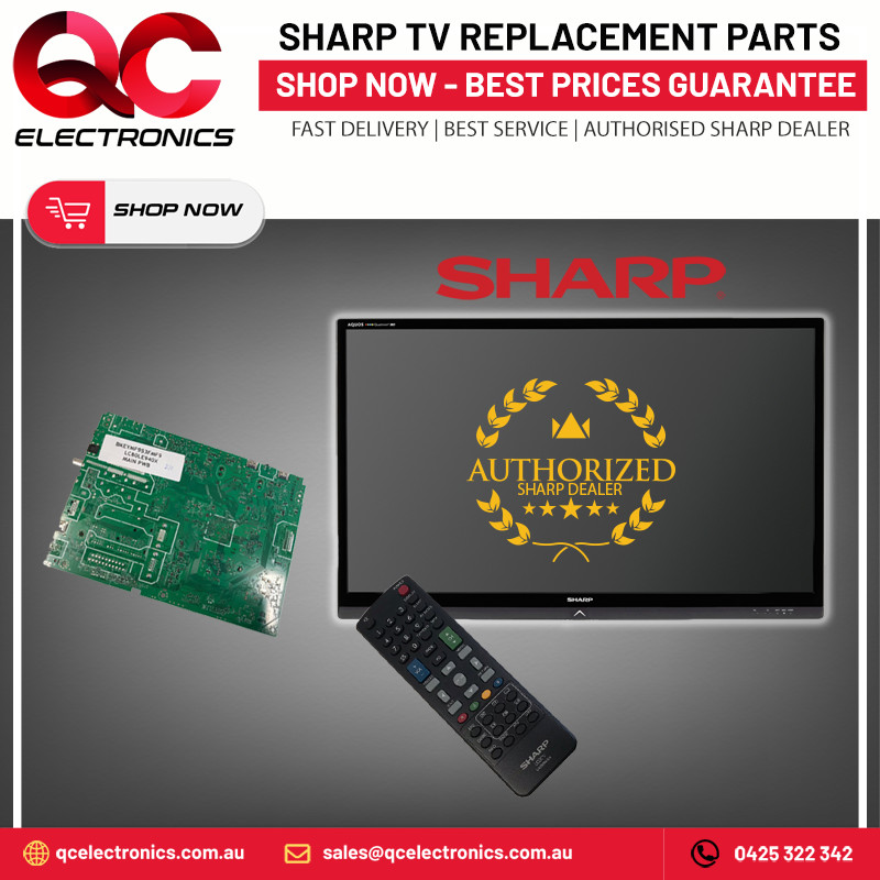 Sharp tv power board repalcement and remote